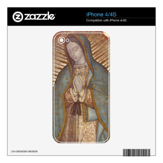OUR LADY OF GUADALUPE SKINS FOR iPhone 4S