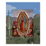 Our Lady of Guadalupe Sonoran Posters