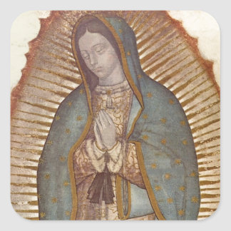 Our Lady of Guadalupe Square Sticker