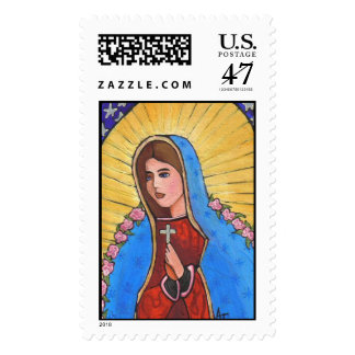 Our Lady of Guadalupe - stamp