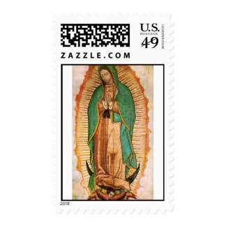 Our Lady of Guadalupe Stamp