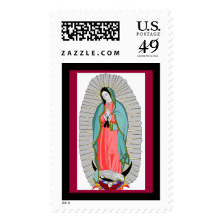 our lady of guadalupe stamps
