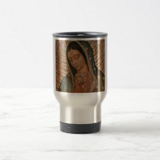 our lady of guadalupe travel mug