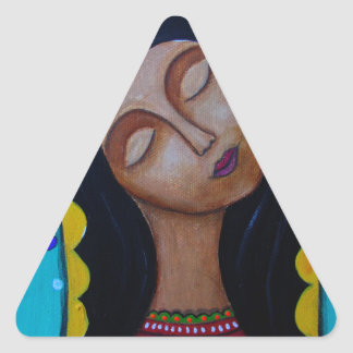 Our Lady of Guadalupe Triangle Sticker