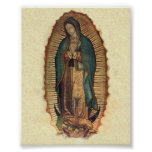 Our Lady of Guadalupe Vintage Original Poster