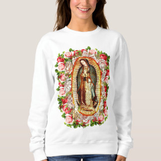 Our Lady of Guadalupe,VIRGIN OF GUADALUPE Sweatshirt