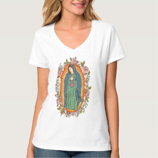 Our Lady of Guadalupe,VIRGIN OF GUADALUPE T-Shirt