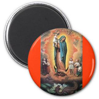 OUR LADY OF GUADALUPE VIRGIN TRADITIONAL CATHOLIC MAGNET