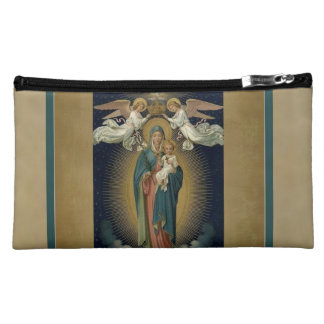 Our Lady of Guadalupe w.angels & H. Spirit Cosmetic Bag