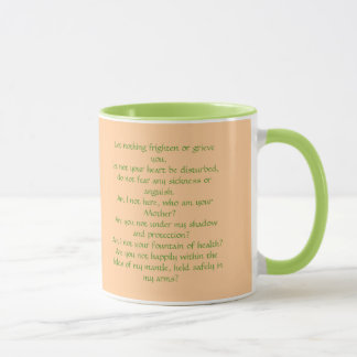 Our Lady of Guadalupe with Juan Diego Mug