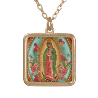 Our Lady of Guadelupe Pendant Necklace