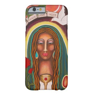 """Our Lady of Healing Hearts"" Barely There iPhone 6 Case"