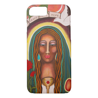 """""""Our Lady of Healing Hearts"""" iPhone 7 Case"""