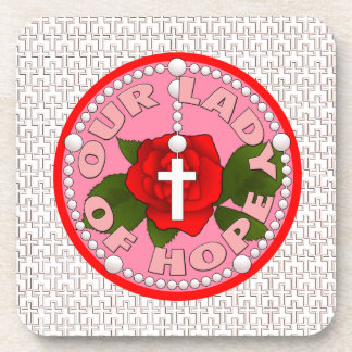 Our Lady of Hope Drink Coaster