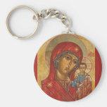 Our Lady of Kazan Keychain