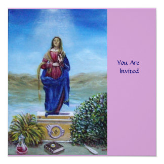 OUR LADY OF LIGHT CARD