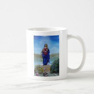 OUR LADY OF LIGHT CLASSIC WHITE COFFEE MUG