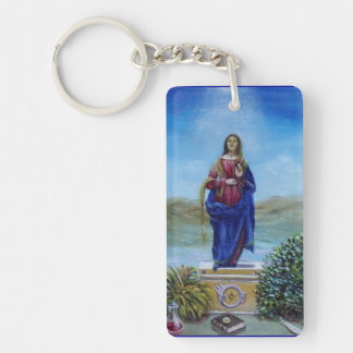 OUR LADY OF LIGHT KEYCHAIN