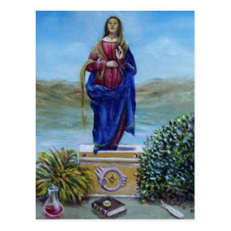 OUR LADY OF LIGHT POSTCARD