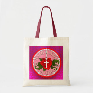 Our Lady of Lourdes Tote Bags
