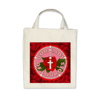 Our Lady of Lourdes Bags