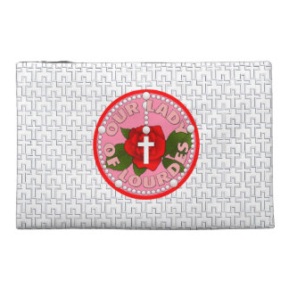 Our Lady of Lourdes Travel Accessory Bags