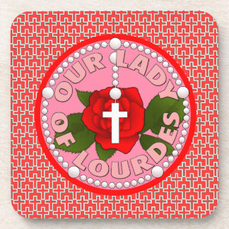 Our Lady of Lourdes Beverage Coaster