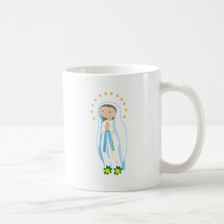 Our Lady of Lourdes Coffee Mugs