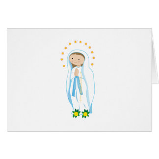 Our Lady of Lourdes Greeting Card
