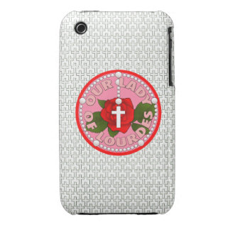 Our Lady of Lourdes iPhone 3 Case-Mate Case