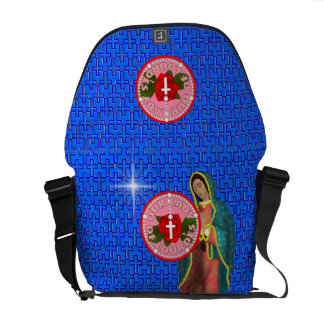 Our Lady of Lourdes Messenger Bags