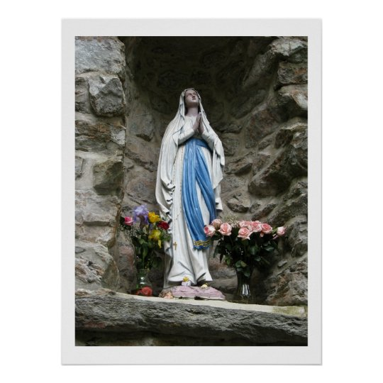 Our Lady of Lourdes Photograph Poster