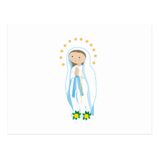 Our Lady of Lourdes Post Card