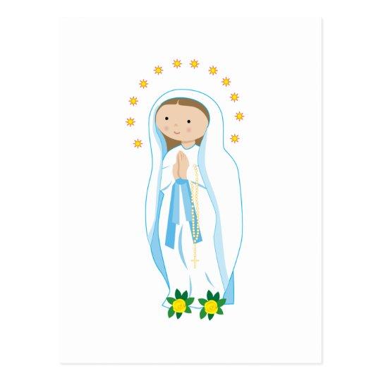 Our Lady of Lourdes Postcard