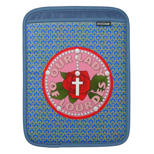 Our Lady of Lourdes Sleeves For iPads