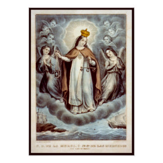Our Lady of Mercy Poster