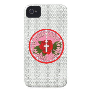 Our Lady of Mount Carmel Case-Mate iPhone 4 Case