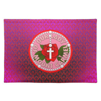 Our Lady of Mount Carmel Cloth Placemat