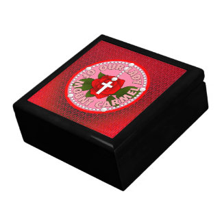 Our Lady of Mount Carmel Jewelry Box