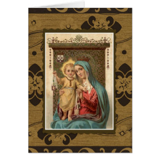 Our Lady of Mount Carmel  Mass Offering Memorial Card