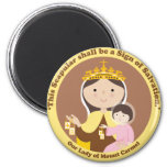 Our Lady of Mount Carmel Refrigerator Magnets