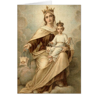 Our Lady of Mount Carmel Thank You Card