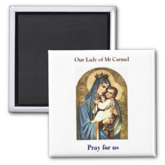Our Lady of Mt Carmel Magnet