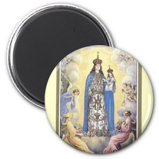 Our Lady of Mt.Carmel Pin Magnet
