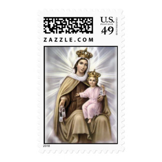 Our Lady of Mt. Carmel Stamp