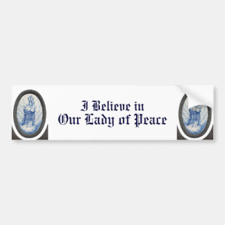 Our Lady of Peace Bumper Sticker
