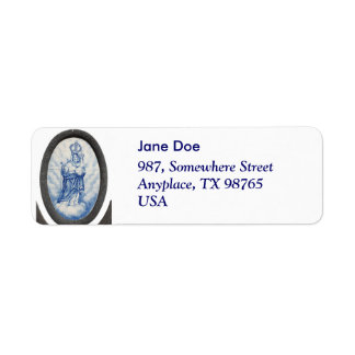 Our Lady of Peace Label
