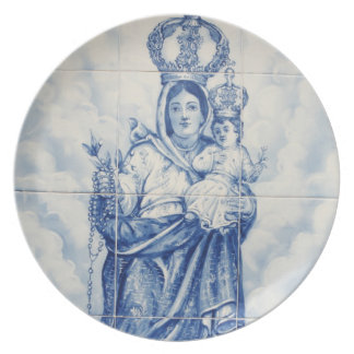 Our Lady of Peace Plate