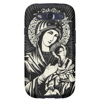 Our Lady of Perpetual Help Samsung Galaxy S3 Cases