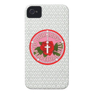 Our Lady of Perpetual Help Case-Mate iPhone 4 Cases